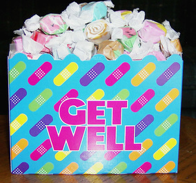 3 pound box get well taffy box picture
